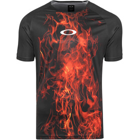 Oakley MTB SS Tech Tee Men flames